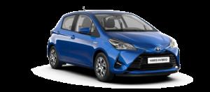 Mietwagen Toyota Yaris Hybrid Automatik - Autovermietung Teneriffa. Red Line Rent a Car Tenerife.