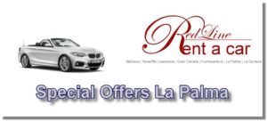 Car Rental Special offers from the car rental Red Line Rent a Car La Palma